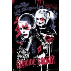 Poster Escuadron Suicida Joker & Harley Quinn