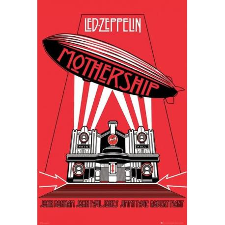 Poster Portada Led Zeppelin Mothership