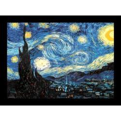 Poster 3D Enmarcado Van Gogh