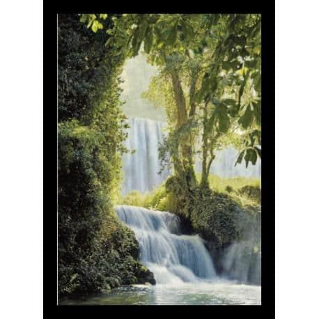 Poster 3D Enmarcado Waterfalls