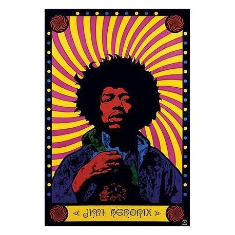 Poster Jimi Hendrix Psychedellic