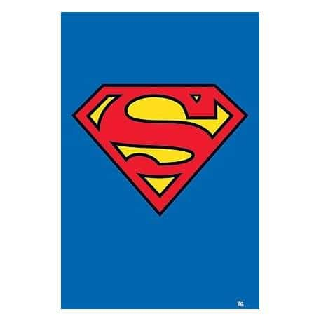 Poster Logo Superman