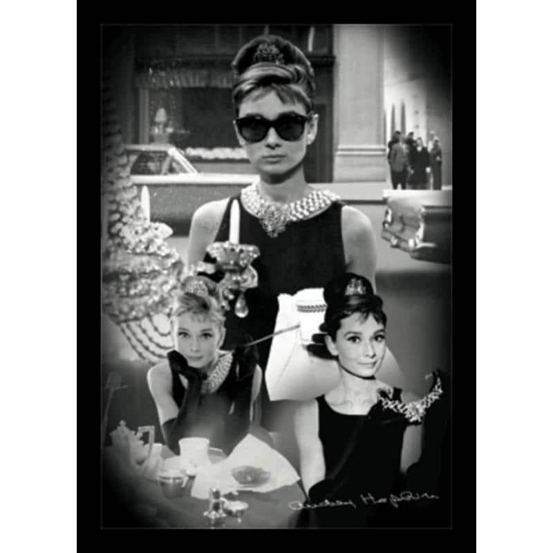 El Poster 3D Enmarcado Audrey Hepburn de mejor calidad y precio en ...