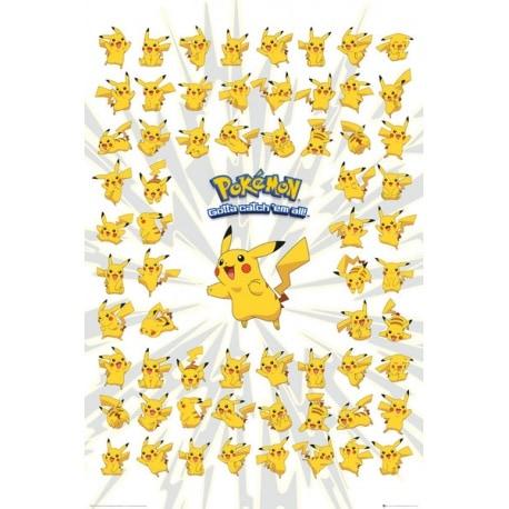 Poster Pokemon Pikachu